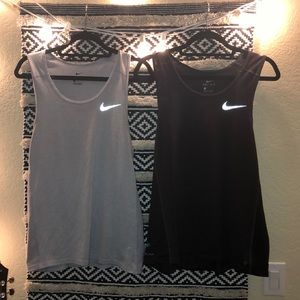 Nike dri fit tanks